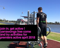 GET INTO ACTIVE APRIL
