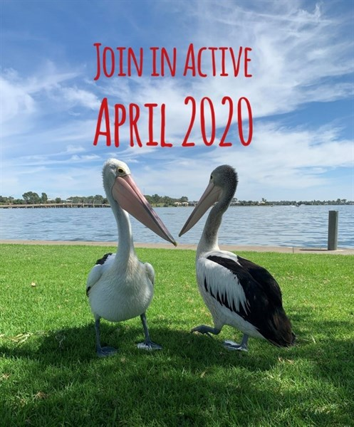 Active April - Healthy Fit Challenge